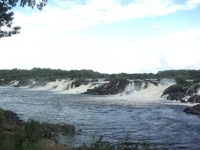 Parque Cachamay en Puerto Ordaz