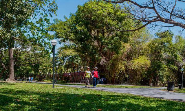 Parque Negra Hipólita en Valencia