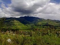 Reserva forestal Pasachoa en Ecuador