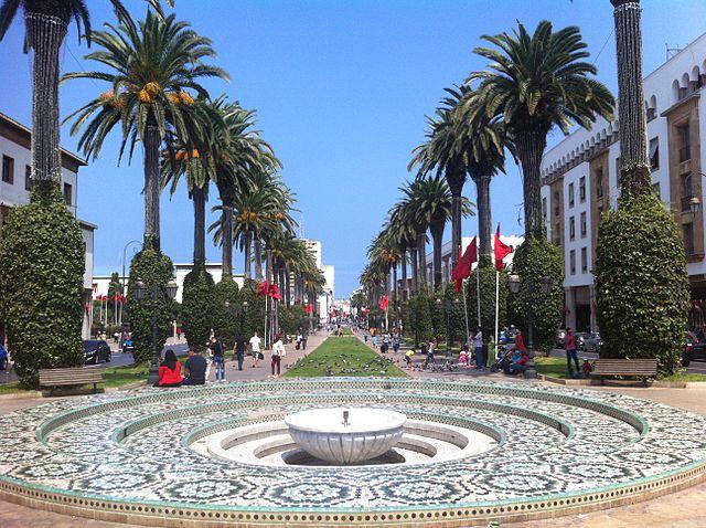Jardín Nouzhat Hassan en Rabat