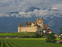 El castillo de Aigle, una joya entre viñedos
