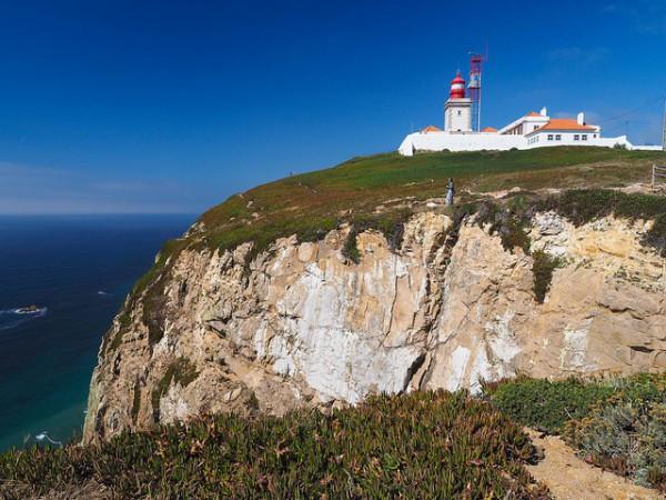 El Cabo de Roca es el punto más occidental de Europa