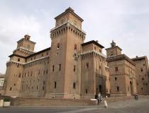 El Castillo de los Este, en Ferrara