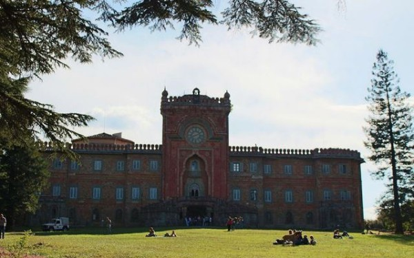 El Castillo de Sammezzano es un curioso y colorido palacio en la Toscana