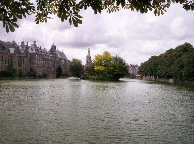 Laguna Hofvijver en La Haya