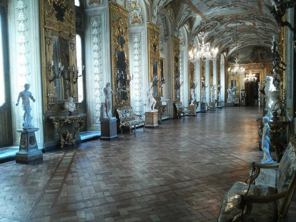 El Palacio Doria Pamphili alberga una importante pinacoteca particular