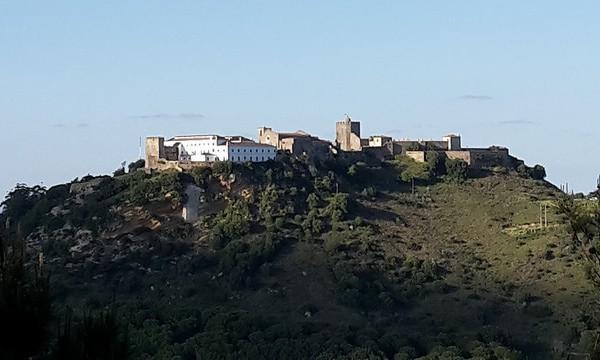 Vistas de Palmela, villa muy cercana a Setubal