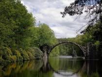 Kromlau y su Puente del Diablo