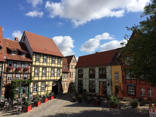 Las casas de Quedlinburg son Patrimonio de la Humanidad