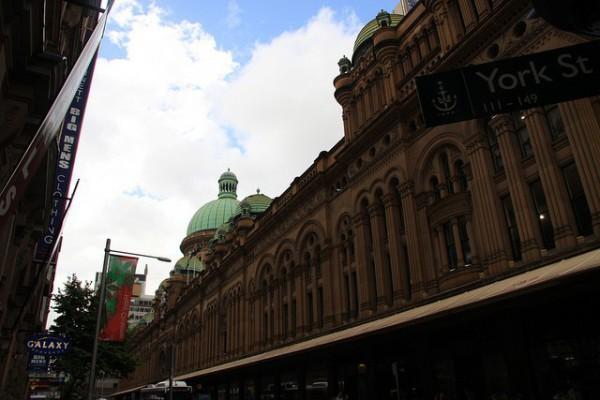 Queen Victoria Building es un lugar a conocer en Sidney