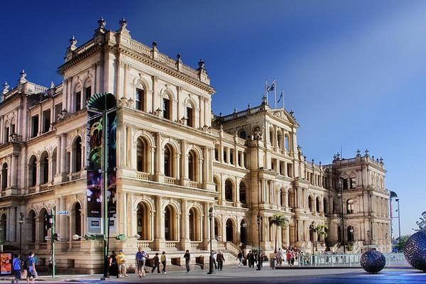 The Treasury es el casino más famoso de Brisbane