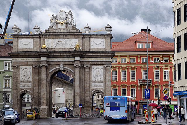 Arco del Triunfo de María Teresa de Innsbruck
