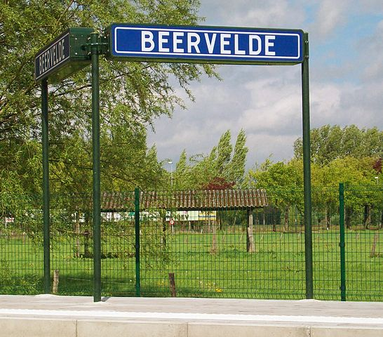 Jardín Beervelde en Bélgica