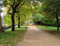Parque Bute en Cardiff