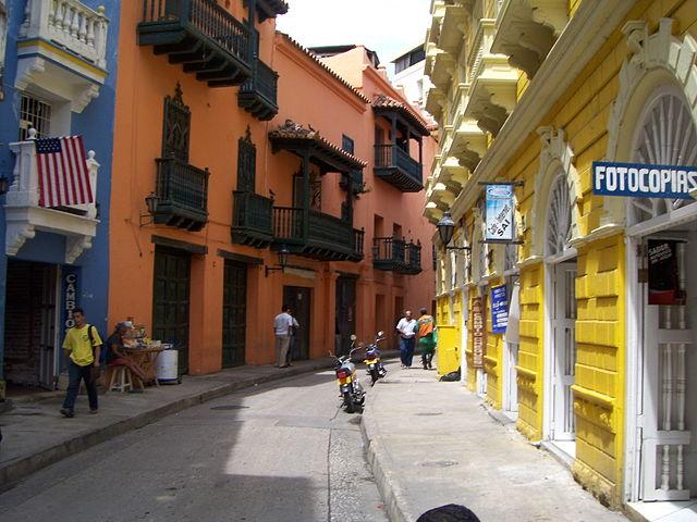 Plaza de la Trinidad en Cartagena de Indias