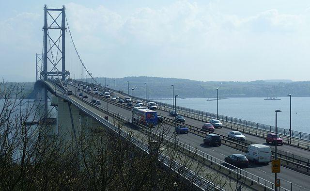 Puente Forth Road de Escocia
