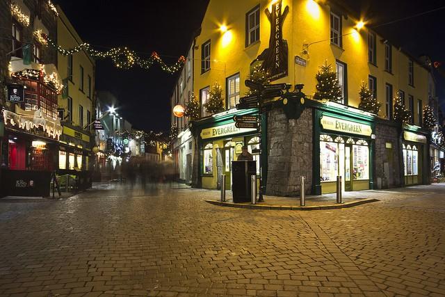 Mercado de Navidad de Galway