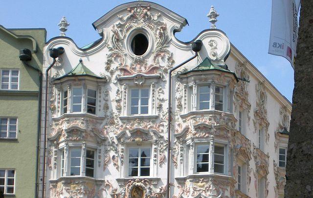 Edificio Helblinghaus en Innsbruck