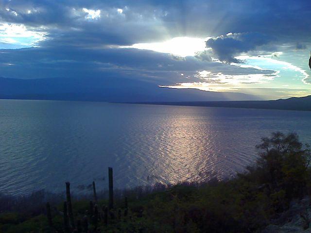 Lago Enriquillo en República Dominicana
