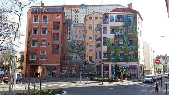 Mur des Canuts en Lyon