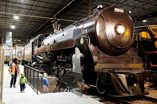 Museo del Ferrocarril de Quebec