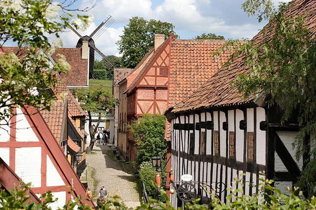 The Old Town en Aarhus