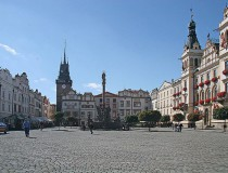Iglesia de Saint Giles en Pardubice
