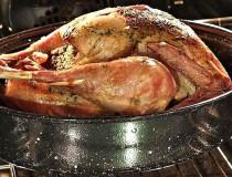Pavo horneado al estilo criollo, receta de Navidad