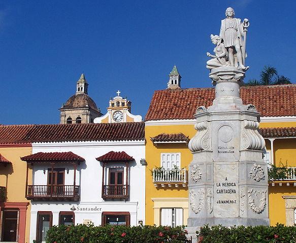 Plaza de la Aduana de Cartagena de Indias