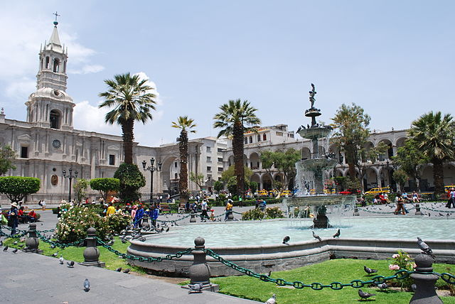Casa Tristán del Pozo en Arequipa