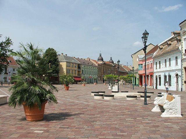 Plaza Széchenyi de Esztergom