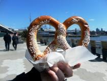 El pretzel, un clásico de la comida urbana en Nueva York