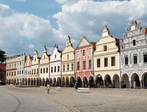 Plaza Mayor de Telc