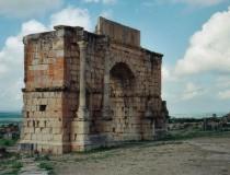 Antigua ciudad romana de Volubilis