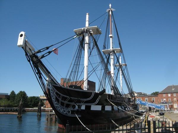 Visitar la fragata USS Constitution en Boston