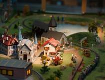 Swiss Vapeur Parc, un parque en miniatura