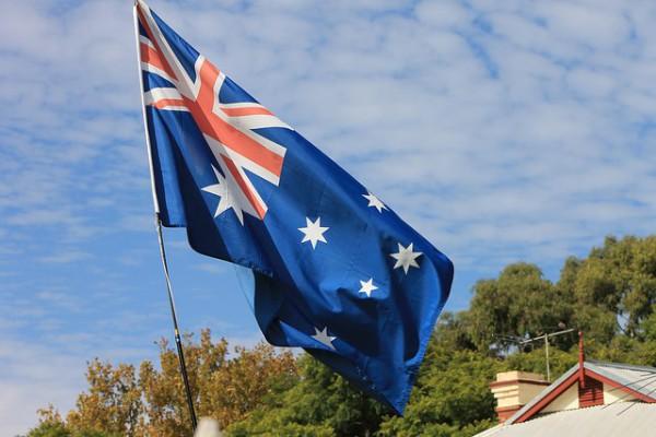 Bandera de Australia es uno de los símbolos del país