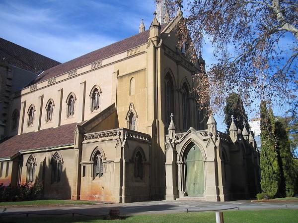 La de Santa María es una de las dos Catedrales de Perth