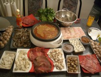 Fondue chinoise, un tradicional plato de Navidad
