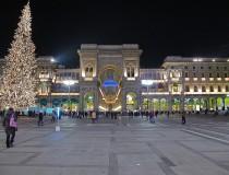 Las fiestas de Navidad en la ciudad de Milán
