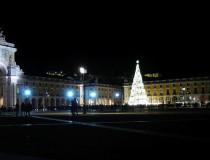 La Plaza del Comercio, el epicentro de la Navidad en Lisboa