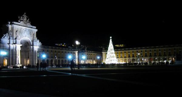 La Plaza del Comercio es el epicentro de la Navidad en Lisboa