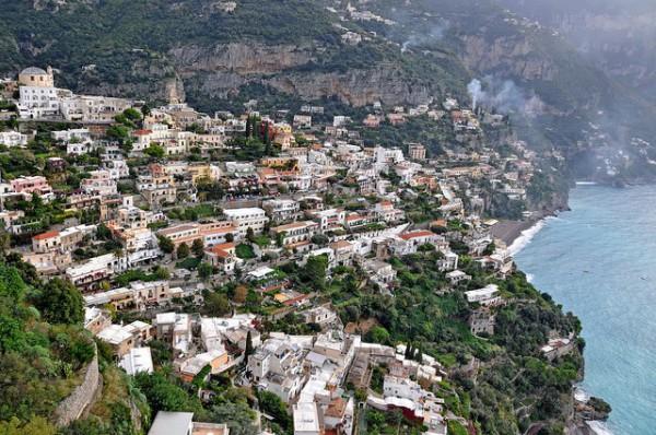 Positano es un precioso pueblo de la Costa Amalfitana
