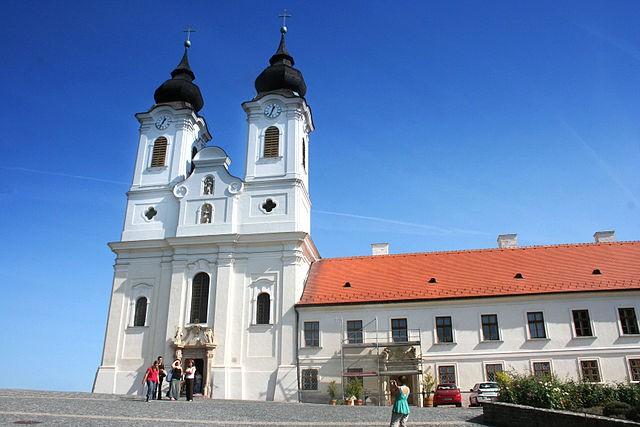 Abadía de Tihany en Hungría