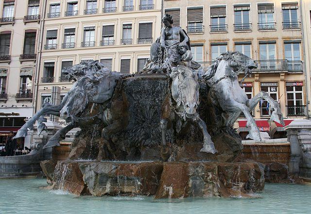 Fuente Bartholdi en Lyon
