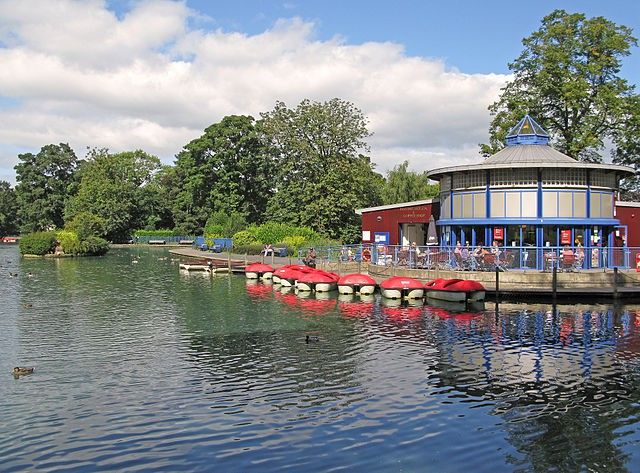 Lister Park en Bradford