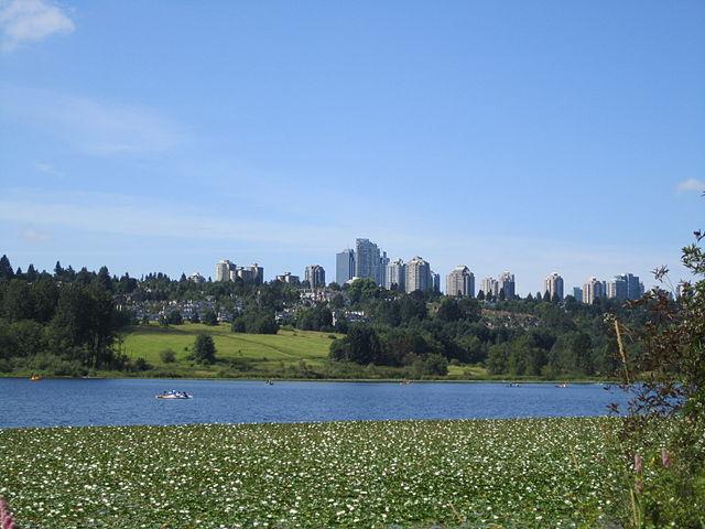 Parque Taylor en Burnaby