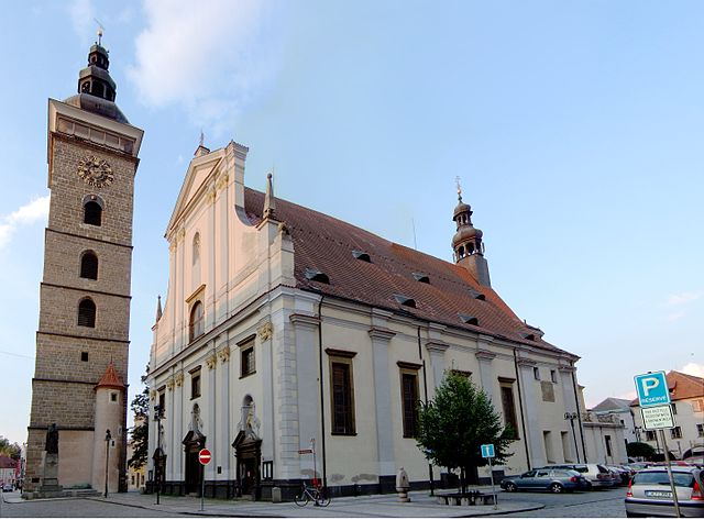 Catedral de San Nicolás en Ceske Budejovice