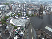 Puente Rey Baudoin en Charleroi