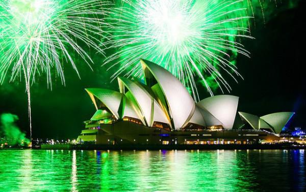 Sidney es uno de los lugares más famosos del mundo para despedir el año